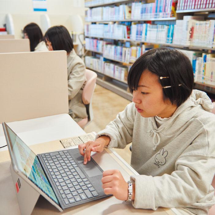 図書館 PCコーナー