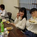一人暮らしの学生との懇親会(春)