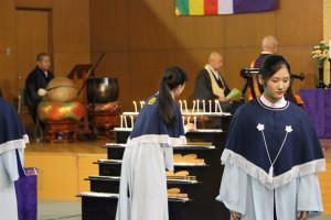 仏教行事「魂祭」を開催しました