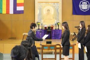 仏教行事「成道会」が行われました