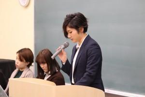 就職活動体験報告会を行いました